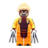 Sw25 Sabretooth Victor X Men Apocalipsis Compatible Con Lego