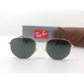 Oculos De Sol Ray Ban Rb 3548 Hexagonal Tam 51 E 54. 11 cores. R  219 99 d5723205c8