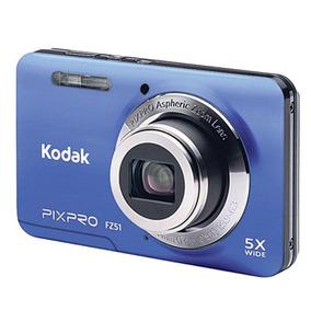 Cámara Fotográfica Digital Kodak Z-51 R16 Megapixeles Azul