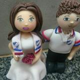 Novios Para Torta De Peñarol, Nacional Porcelana Fría