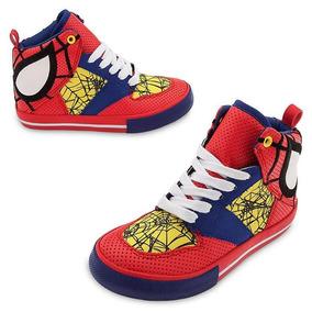Zapatillas Spiderman Originales Disney Store