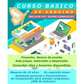 Starter Kit Arduino Uno + Curso Presencial / Online Mona