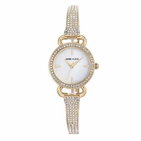 Reloj Dama Anne Klein Swarovski Ak/2816mpgb Nuevo Dorado