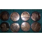Monedas De Coleccion Uruguayas Doradas