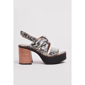 Sandalias De Mujer Lazaro Oxford Piton