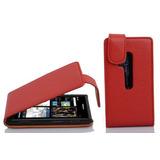 Cadorabo - Flip Style Case Para Nokia Lumia 800 - Shel K131