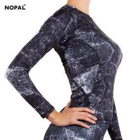 Camiseta Deportiva Termica Mujer Dama Colores Nopal Bici