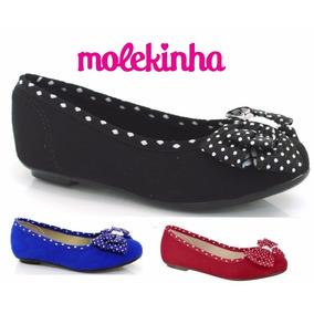 20% Off Sapatilha Molekinha Infantil - 2099.210 244 245