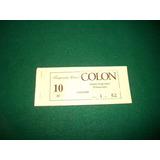 Teatro Colon . Temporada Lirica . Abono . Año 2000 .