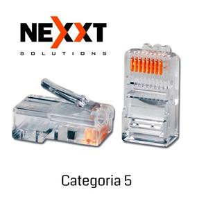 Conector De Red Rj45 Cat 5 Nexxt Paquete 5 Unidades