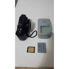 Canon Sx170 Is 16.0 Mp Camera Digital Preta