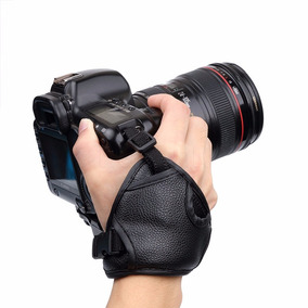 Correa De Mano Grip Para Camara Digital Nikon Canon Fuji Mas