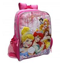 Bolso Morral Princesas Disney Original Capi Escolar