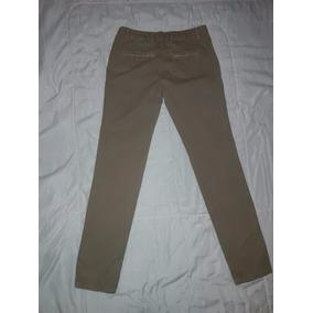 Pantalon Zara Man Basic Color Cafe Claro