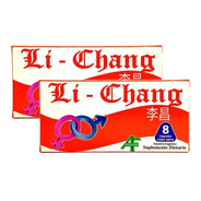 Li Chang X 8 Capsulas - Vigorizante Masculino.