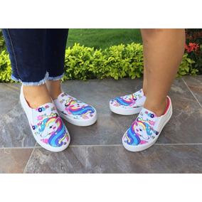 Zapatos De Unicornio Niñas Tallas 21 A La 33 Y 35 A La 40