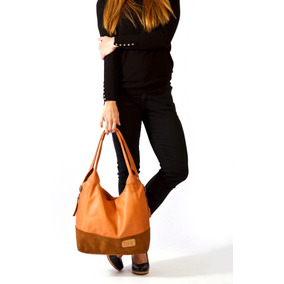 Cartera Bolso De Cuero Premium Modelo Hobby