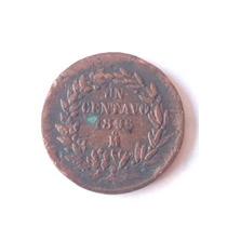 Moneda Antigua De Un Centavo De 1896