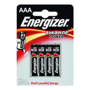 Pilas Aaa Blister X 4 Energizer Bateria Alcalina