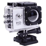 Camara Deportiva Pro Hero Full Hd 1080p Sumergible 30mts.
