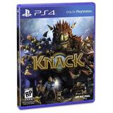 Ps4 Juego Knack Compatible Con Playstation 4