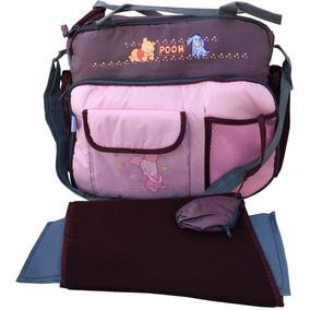 Bolso Organizador Disney Pooh Para Nena Rosa
