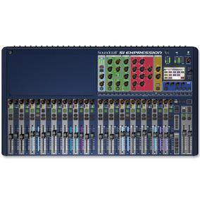 Mesa De Som Digital Si Expression 3 Soundcraft 32 Canais