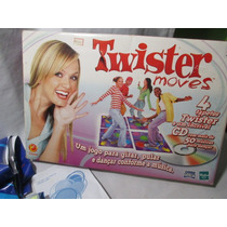 Jogo Twister Moves 4 Tapetes E Cd 50 Musicas Hasbro