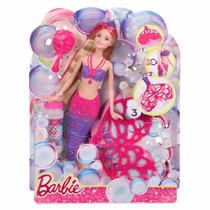 Oferta Barbie Sirena Burbujas Mágicas