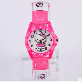 Envio Gratis Reloj Hello Kitty Para Niña Manecillas Chico