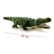 Juguete Peluche Animal Cocodrilo Real 50cm Phi Phi Toys