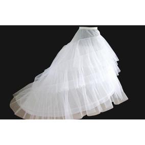 Saiote Anágua Sereia Vestido De Noiva Debutante 3 Aros Tule