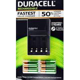 Kit 6 Baterías Aa + 4 Aaa + Cargador Ion Speed 1000 Duracell