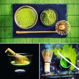 Té Verde Matcha + Utensilios Bambu