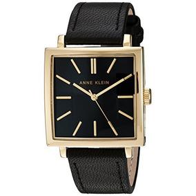 Anne Klein Reloj Para Mujer Ak / 2736bkbk De Oro Y Correa D