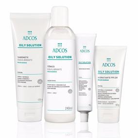 Kit Oily Solution Tratamento Peles Oleosas Adcos 4 Produtos