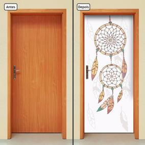 Adesivo Decorativo De Porta - Filtro Dos Sonhos - 112mlpt