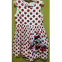 Maravilhoso Vestido Importado Disney Store Tamanho 5 Minnie