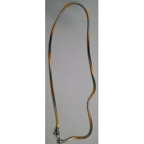 Serpiente De Acero Inoxidable Cadenas Collares, Acero Color