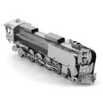 Rompecabezas Métalico 3d Locomotora A Vapor- Fascinations
