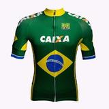 Camisa De Ciclismo Da Seleção Brasileira P M G Gg Oficial