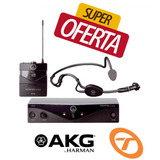 Microfone Akg Pw45 Auric Headset + Microfone Lapela Uh01hli
