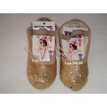 Sapatilha Glitter Bailarina Ballet Bale