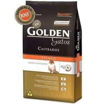 Ração Golden Para Gatos Adultos Castrados Sabor Salmão 10 Kg