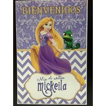 Cartel Bienvenida Poster Personalizado Rapunzel Princesas