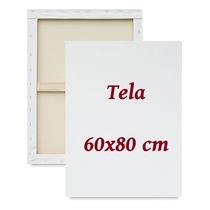 Tela Virada Para Pintura 10 Unid. 60x80 Cm Fabricação Própri