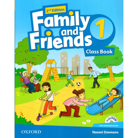 Family And Friends 1 - Class Book + Workbook - 2nd Edition