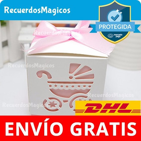 30 Cajitas Dulces Baby Shower Carriola Recuerdos Bautizo