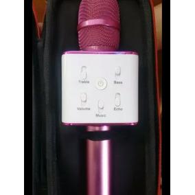 Microfono Karaoke Bluetooth Cornetas Incorporadas, Cable Usb