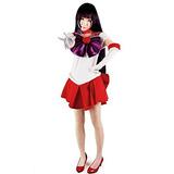 Traje De Cosplay Sailor Moon Hino Rei Marinero De Marzo De